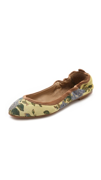 Rag & Bone Leon Floral Flats