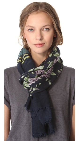 Rag & Bone Uzbeck Flower Scarf