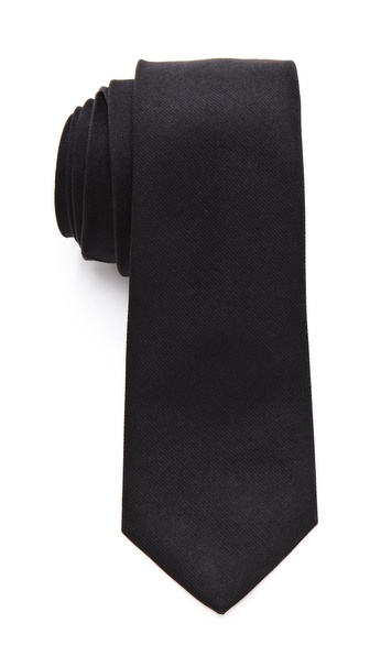 Rag & Bone Solid Silk Tie