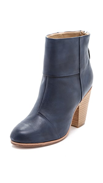 Rag & Bone Classic Newbury Booties in Painted Leather