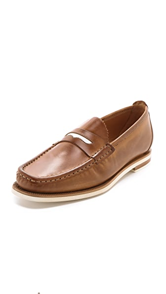 Rag & Bone Loafers with Contrast Keeper