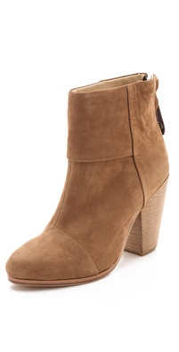 Rag & Bone Classic Newbury Booties in Nubuck