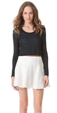 Rag & Bone Belle Crop Pullover