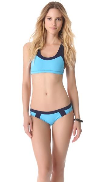 Rag & Bone Toulon Crop Bikini Top