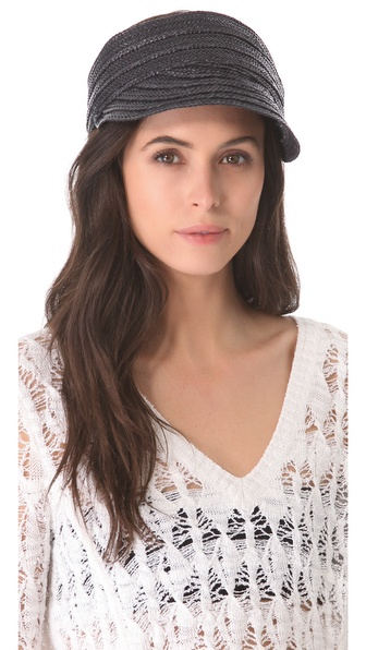 Rag & Bone Braided Beach Visor