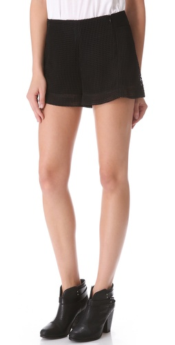 Rag & Bone Zoe Mesh Shorts