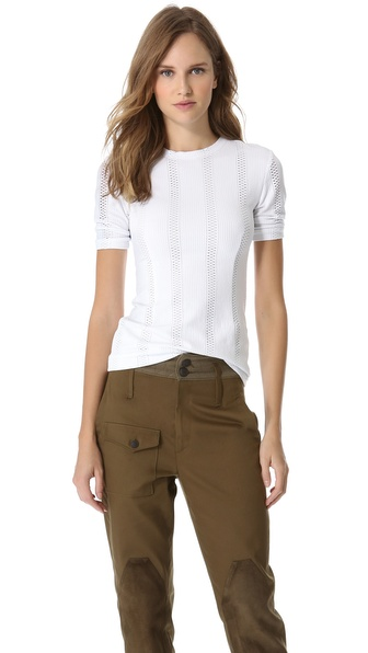 Rag & Bone Elsa Short Sleeve Top