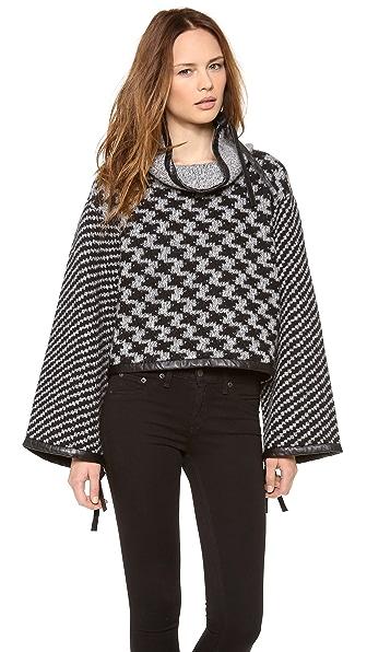 Rag & Bone Ava Oversized Pullover