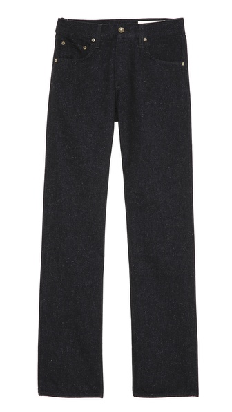 Rag & Bone RB15X Black Nap Slim Straight Jeans