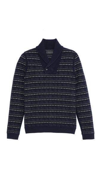 Rag & Bone Patrick Shawl Sweater