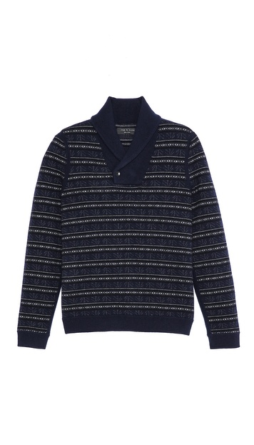 Rag & Bone Patrick Shawl Sweater