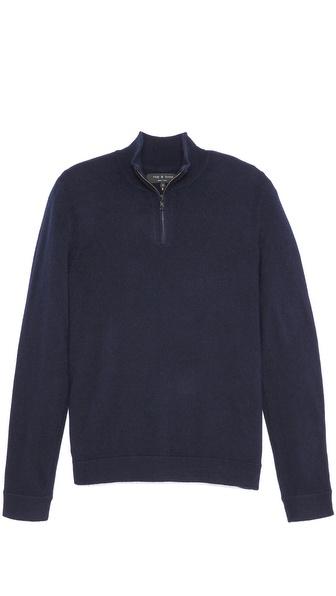 Rag & Bone Zeeland Half Zip Pullover