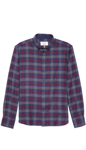 Rag & Bone Flannel Sport Shirt