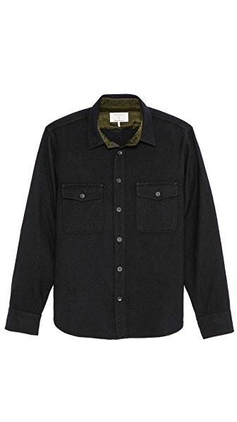 Rag & Bone Jack Wool Overshirt
