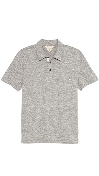 Rag & Bone Melange Pocket Polo