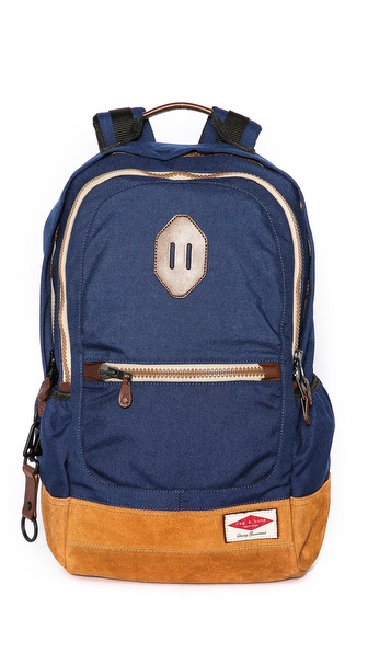 Rag & Bone Sporty Backpack with Leather Base