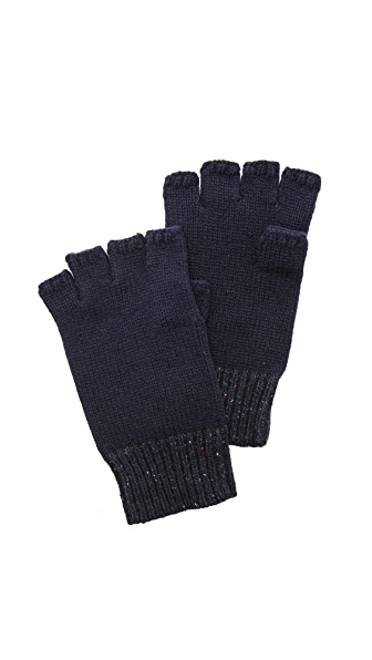 Rag & Bone Teddy Fingerless Knit Gloves
