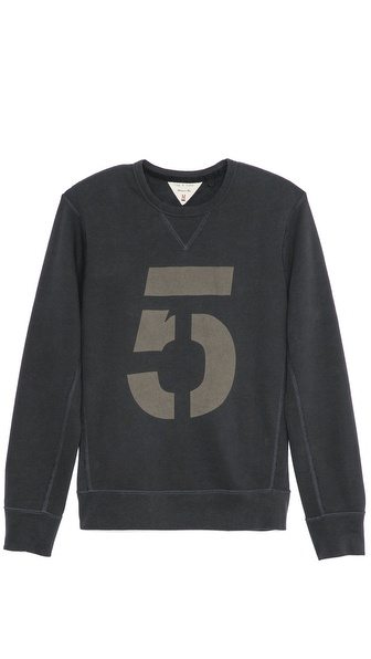 Rag & Bone Number Sweatshirt