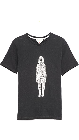 Rag & Bone Spaceman Print T-Shirt