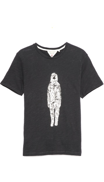 Rag & Bone Spaceman Print T-Shirt
