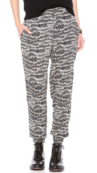 Rag & Bone Printed Leisure Pants