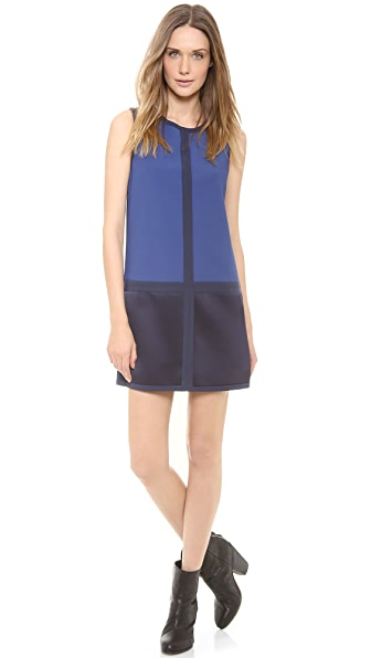 Rag & Bone Margot Colorblock Dress