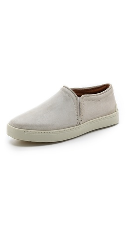 Rag & Bone Kent Suede Slip On Sneakers at Shopbop / East Dane