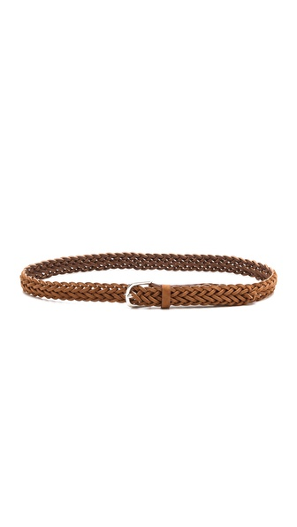 Rag & Bone Classic Braided Suede Belt