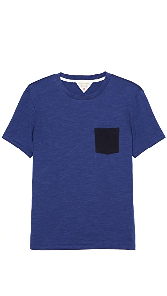 Rag & Bone Colorblock Pocket Tee