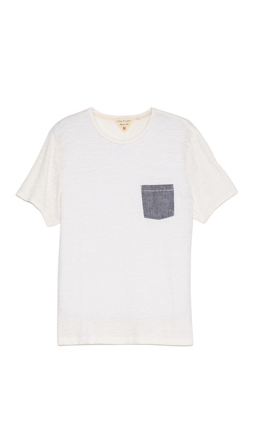 Rag & Bone Basic Pocket T-Shirt