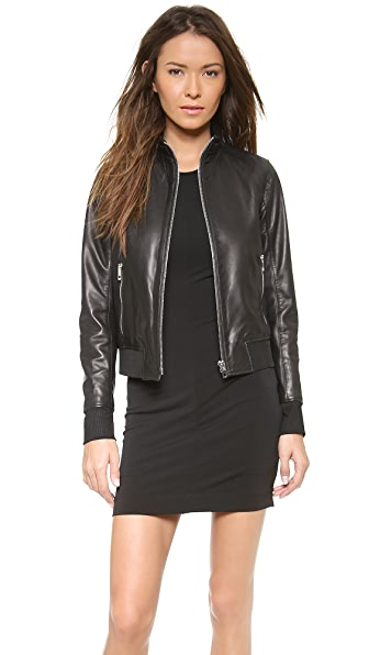 Rag & Bone Gran Sport Leather Jacket