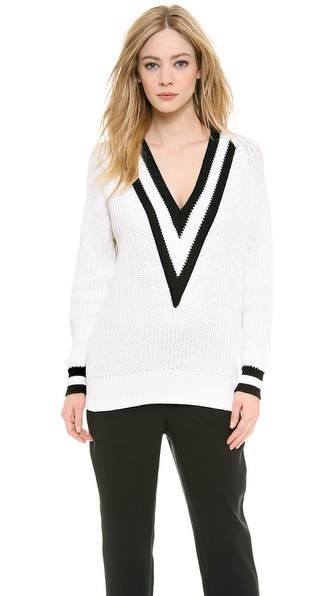 Rag & Bone Talia V Neck Sweater