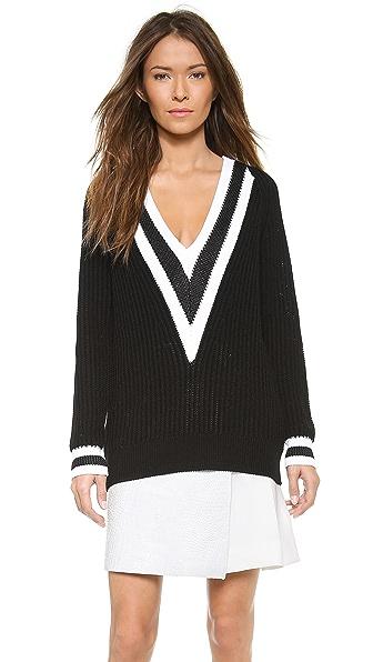 Rag & Bone Talia V Neck Sweater