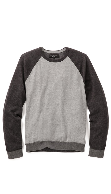 Rag & Bone Luke Baseball Sweater