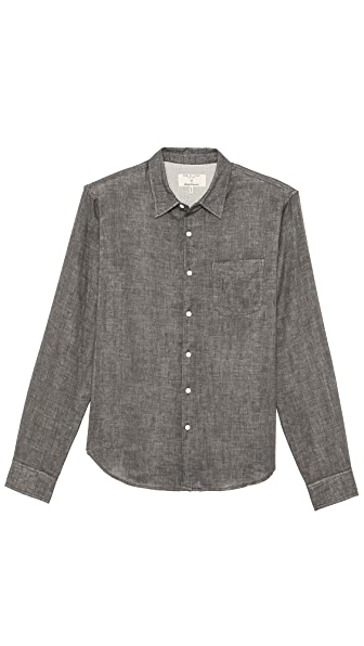 Rag & Bone Double Face Beach Shirt