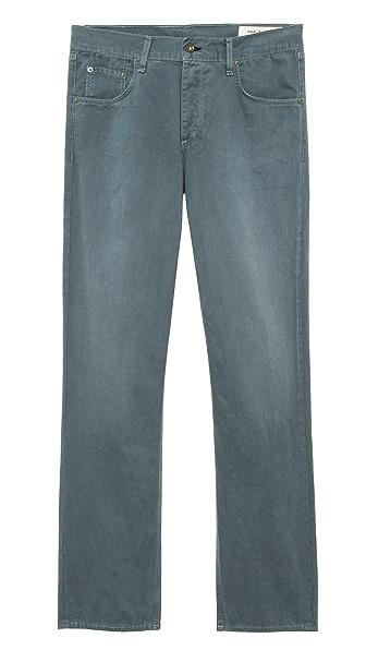 Rag & Bone RB15X Slim Straight Jeans