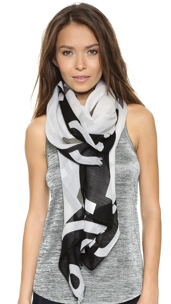 Rag & Bone Numerical Scarf