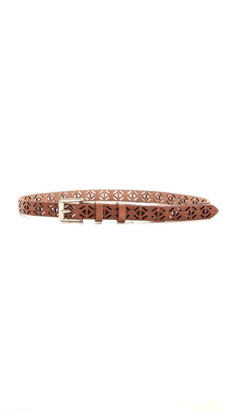 Rag & Bone Perforated Belt