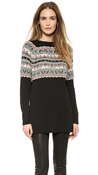 Rag & Bone Adelina Split Back Sweater