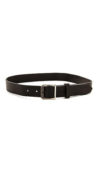 Rag & Bone Textured Buckle Belt