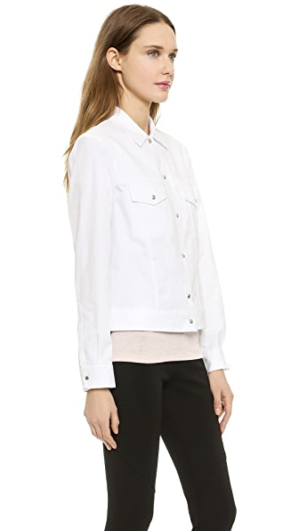 B-One B-One Trucker Shirt (White)