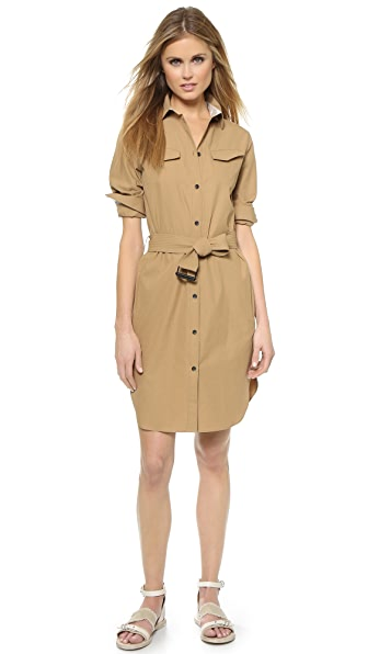 Kupi Rag & Bone haljinu online i raspordaja za kupiti Rag & Bone Case Shirtdress Ermine online