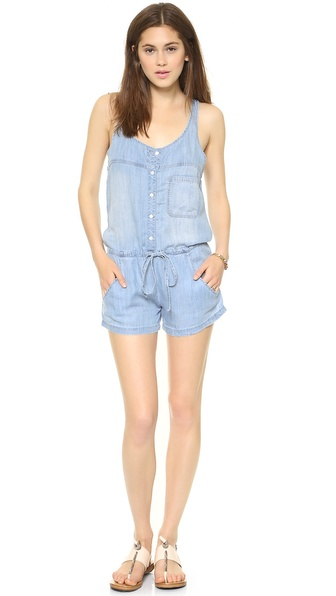 RAILS Lily Denim Romper