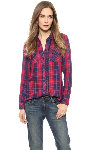 RAILS Kendra Long Sleeve Button Down