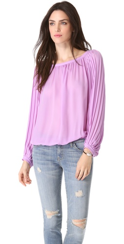 Ramy Brook Jessie Pleated Top