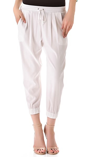 Ramy Brook Drawstring Cropped Pants
