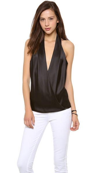 Ramy Brook Joey Low Back Halter Top
