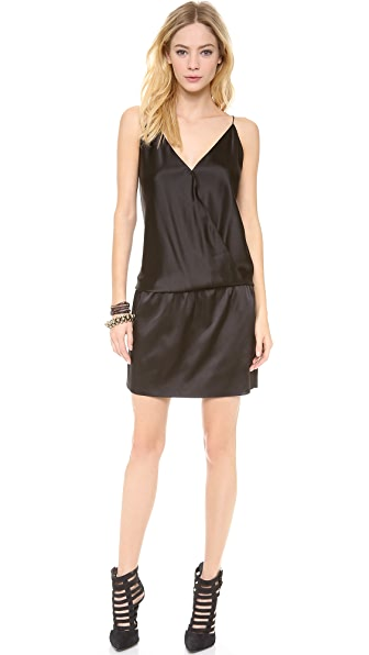 Ramy Brook Kiki Crossover Mini Dress