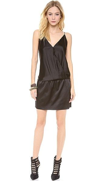 Ramy Brook Kiki Crossover Mini Dress