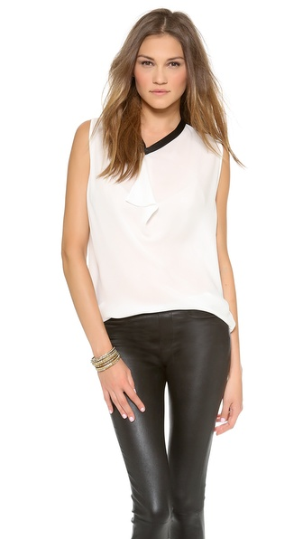 Ramy Brook Emily Chiffon Top